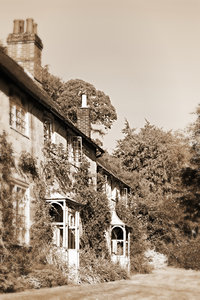 Old English Houses: Old english houses in S.W.England