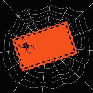 Halloween Invite 2: Spooky spider invitation.