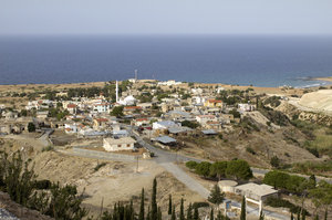 Village in Cyprus: A village on the north coast of Cyprus.