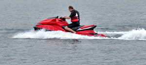 making a splash: using large and powerful jet ski in bay waters