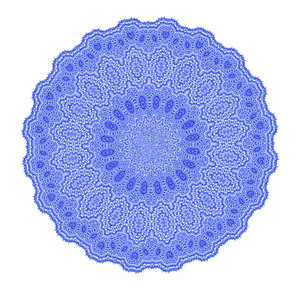 blue lace doily2