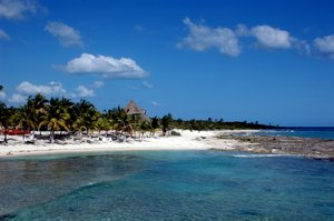 Costa Maya Beach: A beach of Costa Maya, Mexico