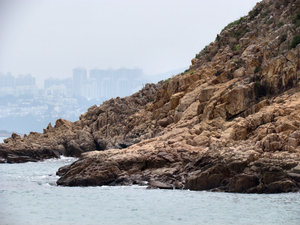 rocky island outcrop4: interesting Hong Kong islands rock formations