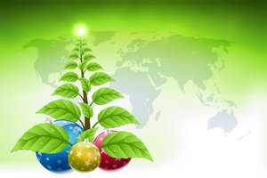 Green Christmas Tree 01