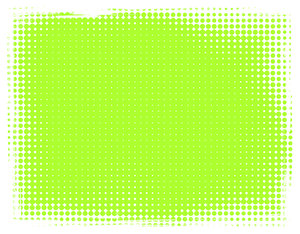 Dot Banner 10: A lime green banner or background with a grungy dotted border.