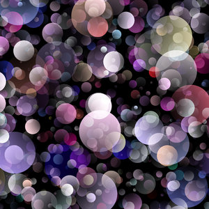 Bubble Explosion 5: A big, beautiful splash of bubble colours in rainbow shades. Very festive and suitable for invitations, birthdays, scrapbooking, backgrounds, desktops, textures or fills.