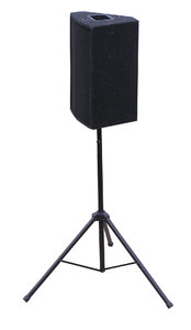 Loudspeaker: A loudspeaker isolated