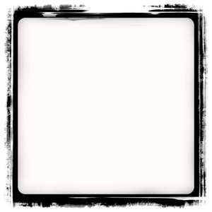 Grungy Black Frame: A black grunge frame. Very useful stock image. Plenty of copyspace.