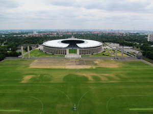 Berlin Olympic Stadium: none
