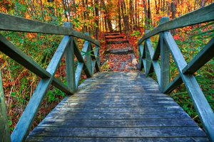 Bridge to Fall - HDR