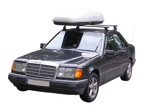 Roofrack car: A car with a roof rack.