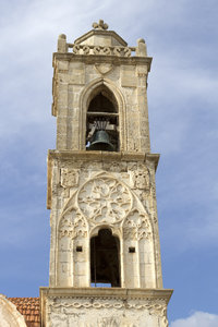 Old bell tower: An old church bell tower in northern Cyprus.