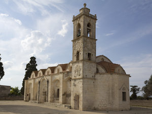 Old church: An old Greek Orthodox church in northern Cyprus.