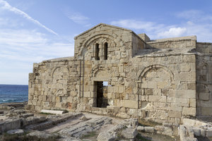 Ancient ruins: Ancient ruins in northern Cyprus.