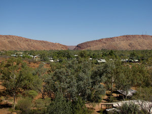 A town like Alice6: looking out over the central Australian township of Alice Springs