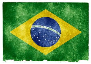 Brazil Grunge Flag: Grunge textured flag of Brazil on vintage paper. You can find hundreds of grunge flags on my website www.freestock.ca in the Flags & Maps category, I'm just posting a sample here because I do not want to spam rgbstock ;-p