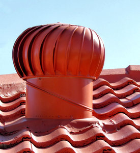 rooftop airflow1: rooftop whirlybird ventilation system