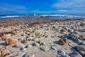 Rugged Beach - HDR