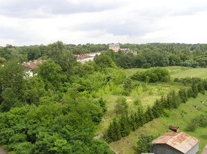 Modlin fortress area: Modlin area with some buildings from XIX and early XX century.