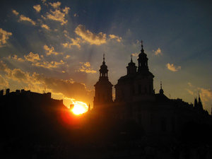 Sunset [3] Praque
