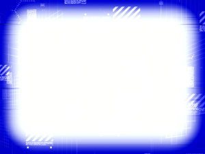 Technical Border 3: A technical, scientific or futuristic border in blue and white. Plenty of copyspace. Hi resolution.