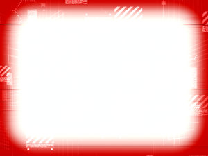 Technical Border 1: A technical, scientific or futuristic border in red and white. Plenty of copyspace. Hi resolution.