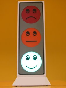 noise meter traffic light