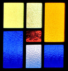 textured coloured glass2: textured stained glass windows