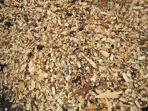wood mulch texture