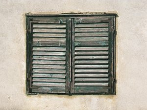 weathered window: none