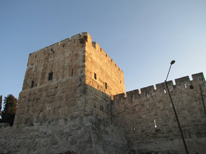 Jerusalem: City walls