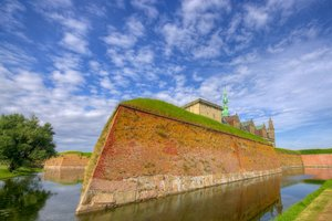 Hamlets Castle - HDR: Kronborg Castle in Denmark is the castle in wich Shakespeare's play