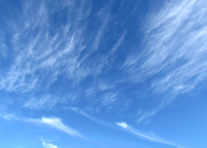 wispy clouds10: fine wispy cloud formations