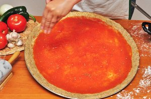Pizza Making 4