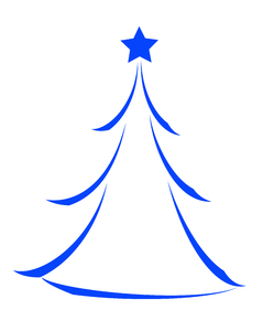 Christmas Tree Icon 1
