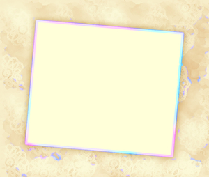 You're Invited 8: Blank notecard in sepia with rainbow highlights suitable for an invitation, banner, birthday, congratulations - many uses. White blank area against a textured coloured background. Alternative - http://www.rgbstock.com/photo/mQufuc4/You%27re+invited+6