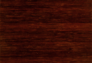 Dark Wood Laminate: Photograph of bamboo strand laminate material used for countertops.