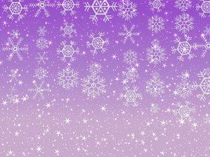 Stars Snowflakes Background 6