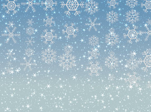 Stars Snowflakes Background 4