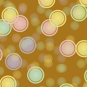 Globe Pattern 2: A colourful modern pattern, useful for a background, fill, texture, etc.High resolution.