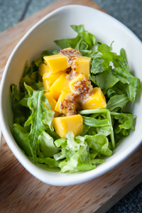 Healthy Salad 4: Photo of salad with dressing