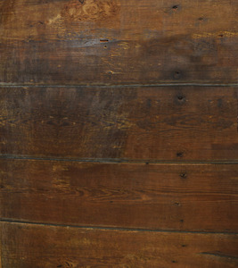 Antique Wood Wall: These walls are the original wood walls of a 1680 American building. The nails are English hand made
