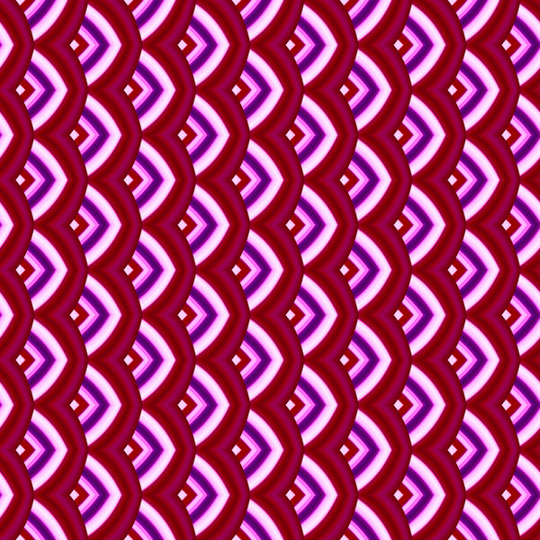 Retro Chinese Pattern 2: A classic Chinese pattern in shades of red, pink, purple and white.