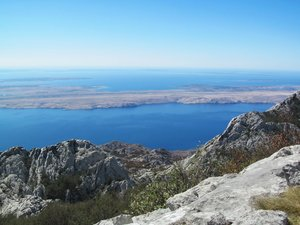 on the mountain: Velebit, Croatia