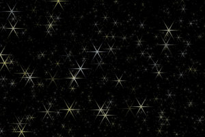 Christmas Stars: White and gold Christmas stars in a black sky. This is a great Christmassy background, fill or texture. Perhaps you would prefer this:  http://www.rgbstock.com/photo/mlZLc3S/Starry+Night