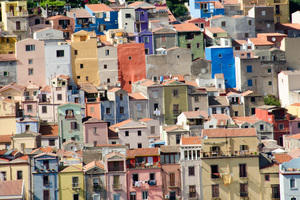 Housing in Bosa, Sardinia