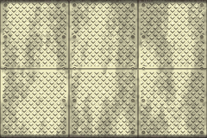 Metal Plate 5: A stained textured metal plate with rivets. A great texture, backdrop, or fill for when you want an industrial grunge feel. A high resolution image. No redistribution allowed.