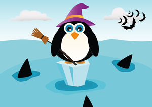 Halloween Penguin ...: no description