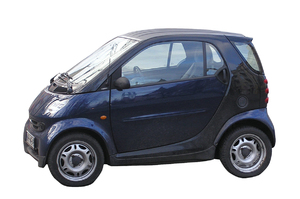 Small car: A car isolated.