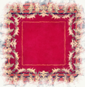 Painted Christmas Frame: A grungy Christmassy frame for you to use on a card, gift tag, online, for scrapbooking, etc.